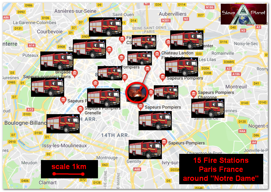 NOTRE DAME Minor Observations on the Destructive Fire FIRE ENGINE speed and performance