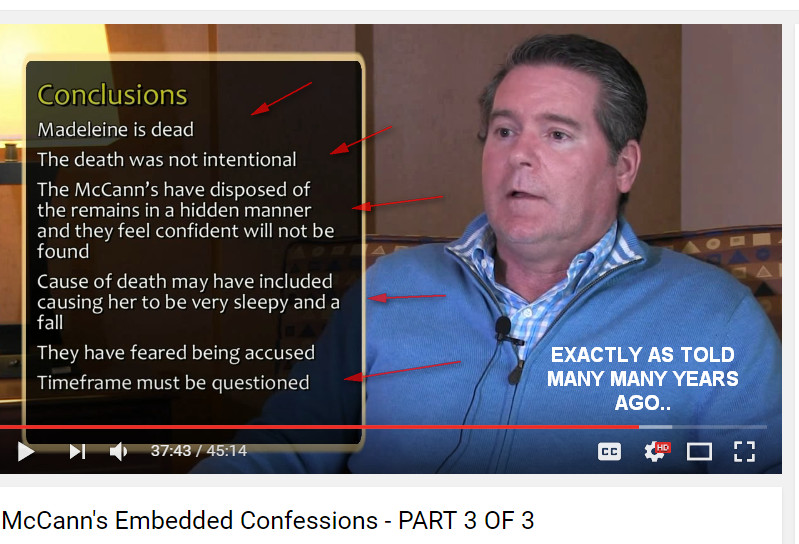 McCann's Embedded Confessions - Richard D Hall