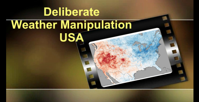 WEATHER MANIPULATION USA Proof Caught In The ACT
