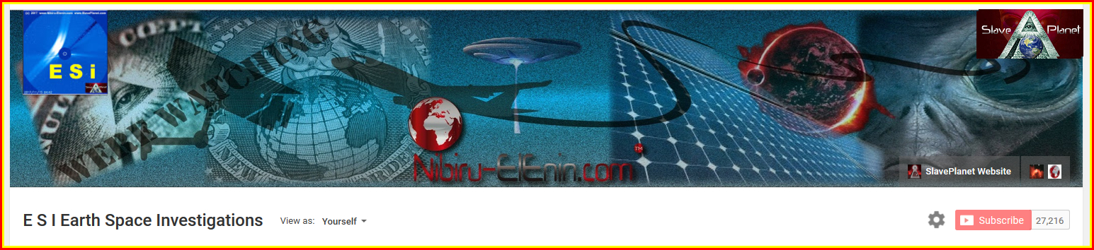 Official Nibiru Slave Planet Youtube Channel